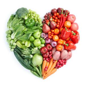 Calcio en frutas y verduras