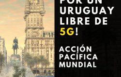5G Uruguay Salud: concentración el 24 de junio en Plaza Independencia